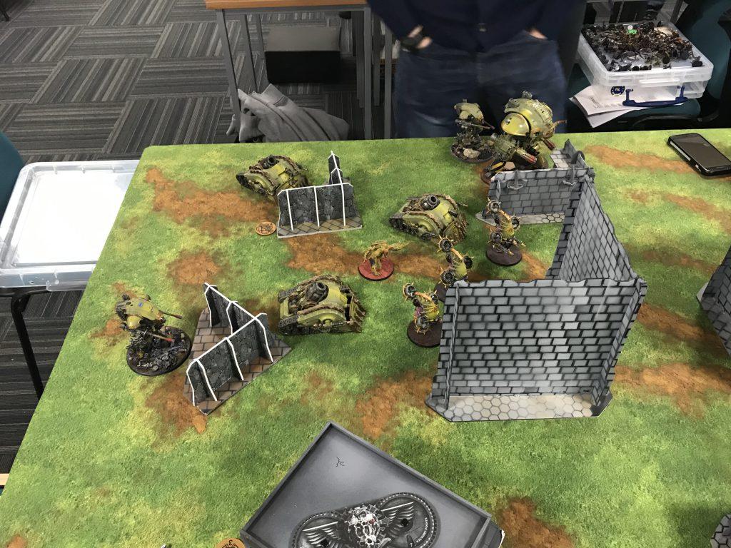 Opponent's Deployment - Round 1