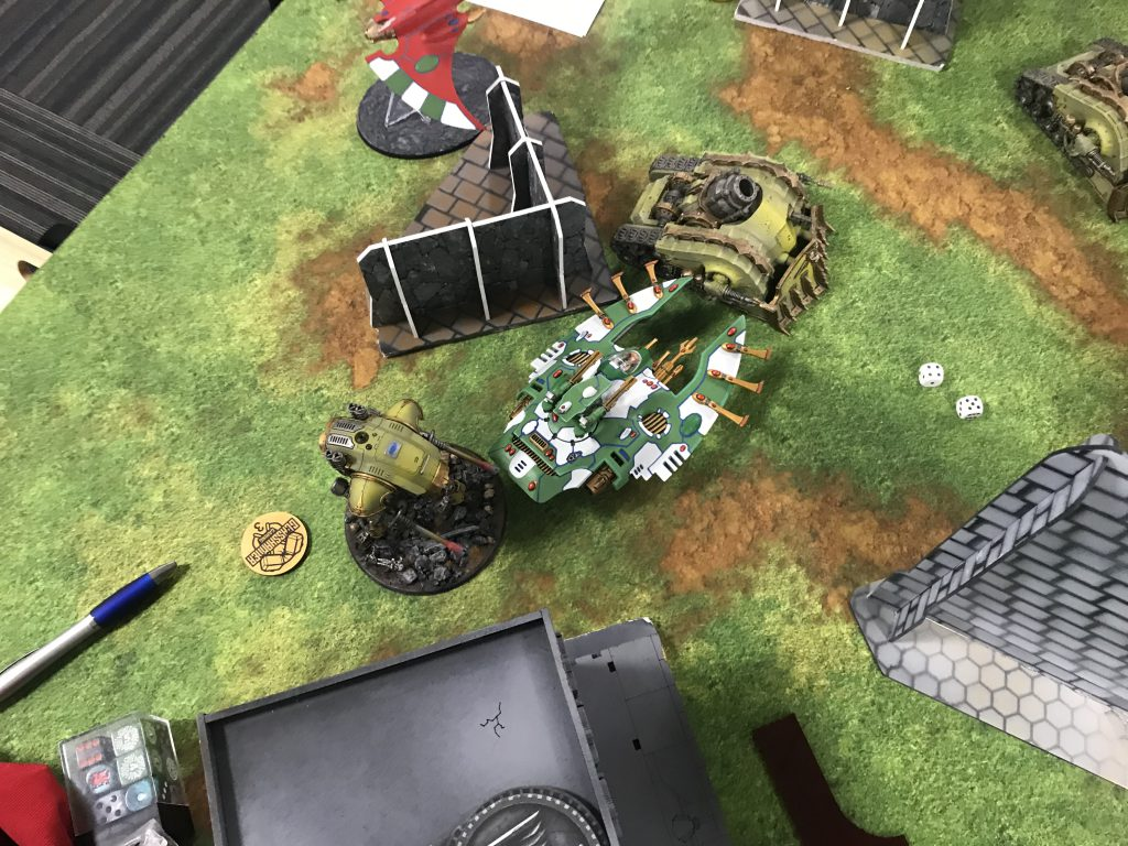 A very effective Wave Serpent charge