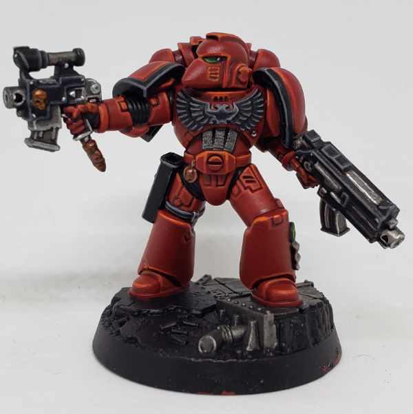 SBB's Blood Angel Step 10