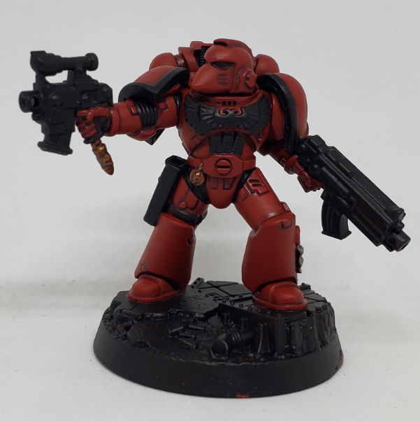 SBB's Blood Angel Step 4