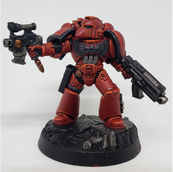 SBB's Blood Angel Step 7