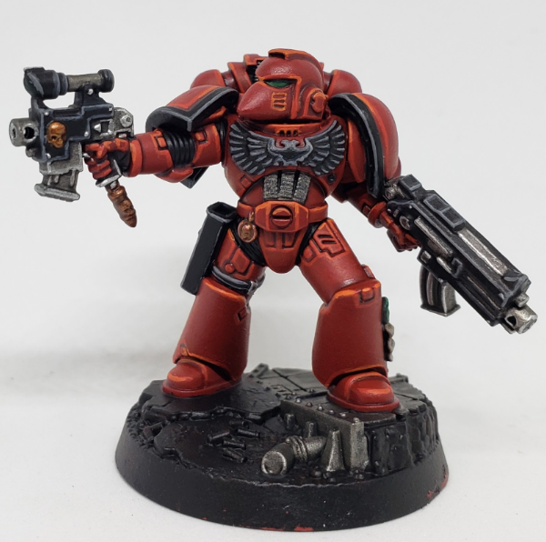 SBB's Blood Angel Step 9