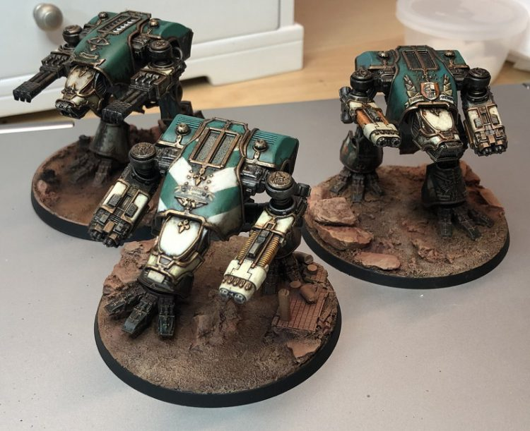 Legio Krytos Warhounds.
