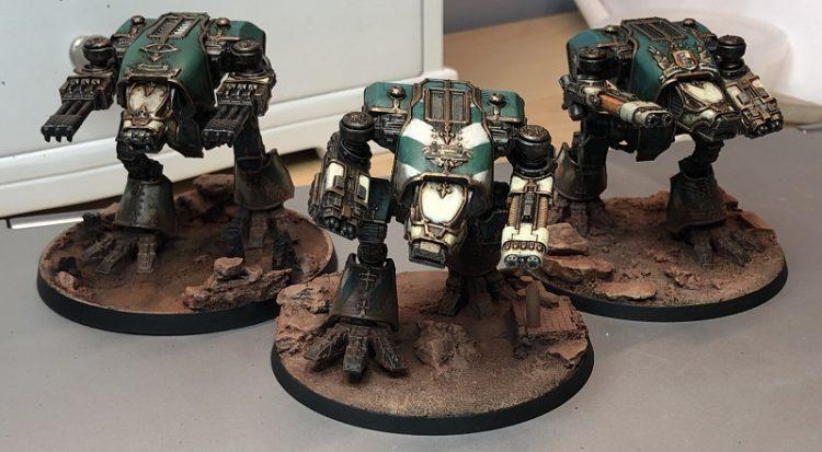 Legio Krytos Warhounds
