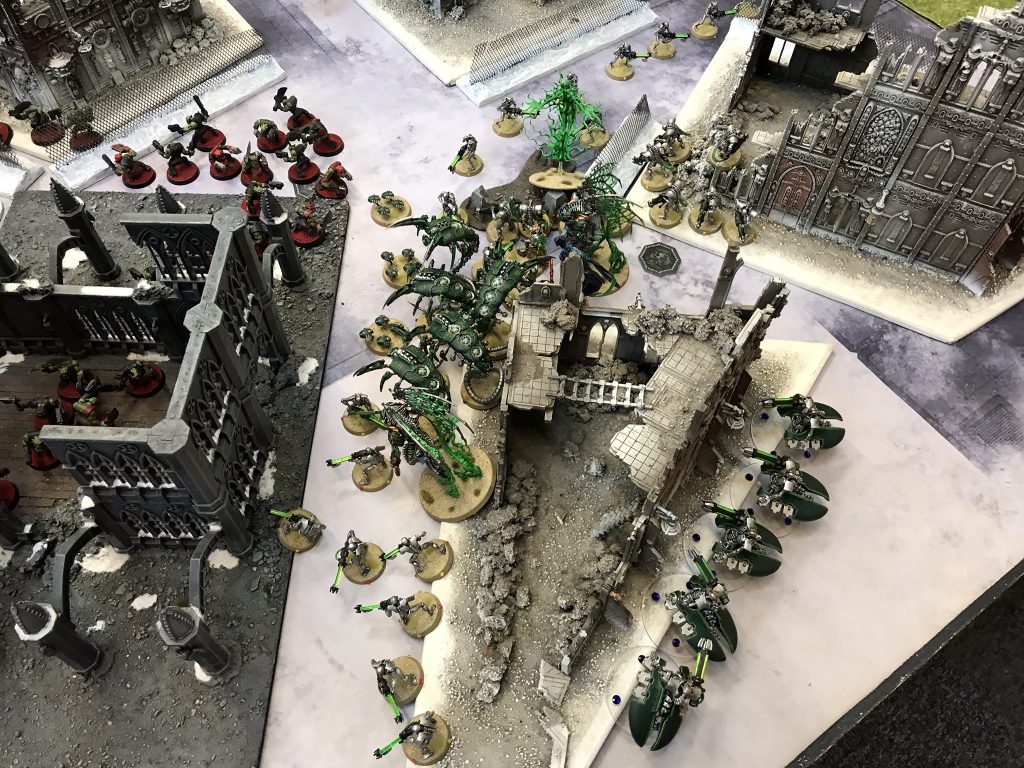 Orks Push to a Turn 1 Bonus