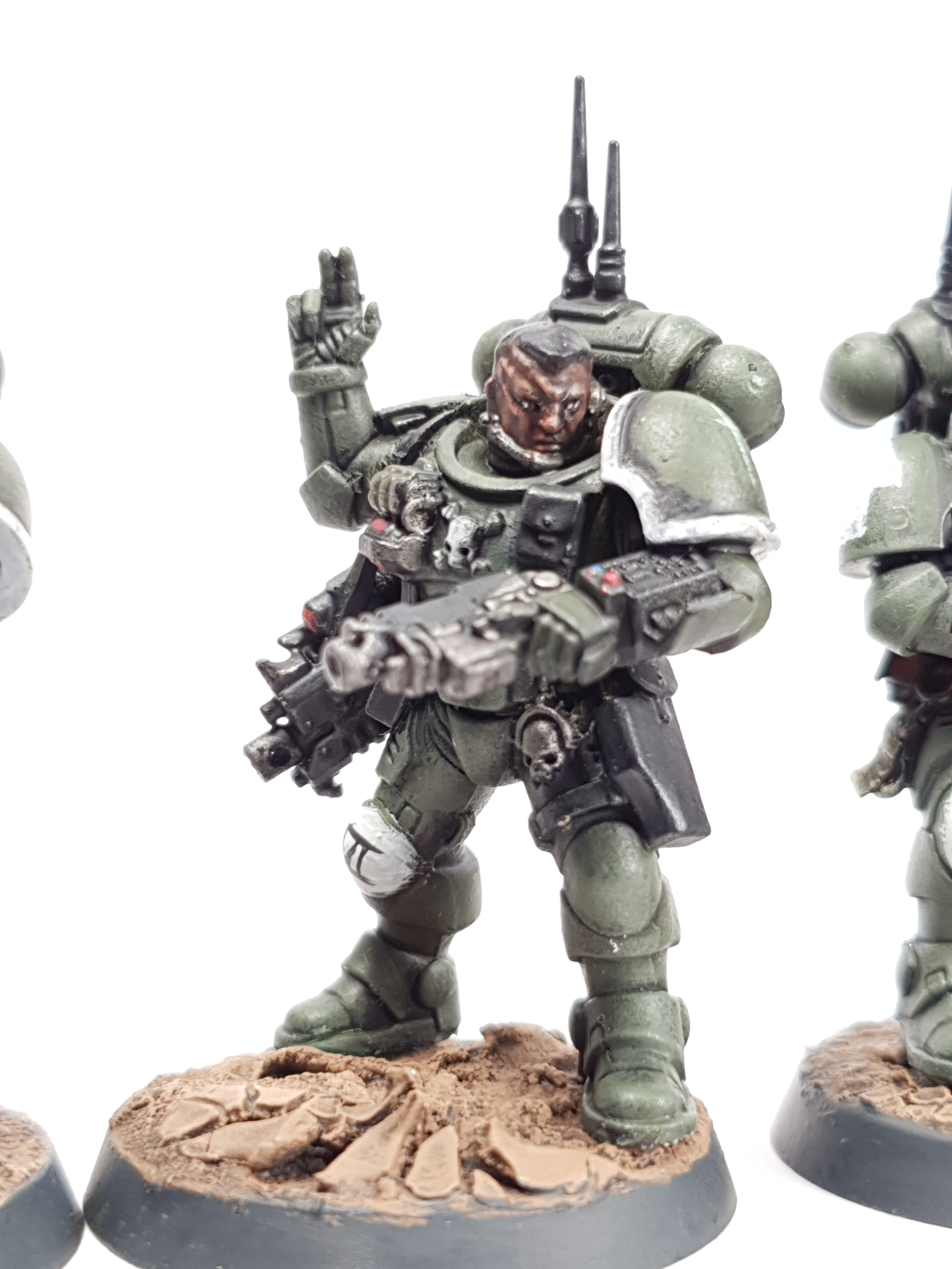"Sword's of Davion Space Marine Infiltrators by Tyler ""Coda"" Moore"