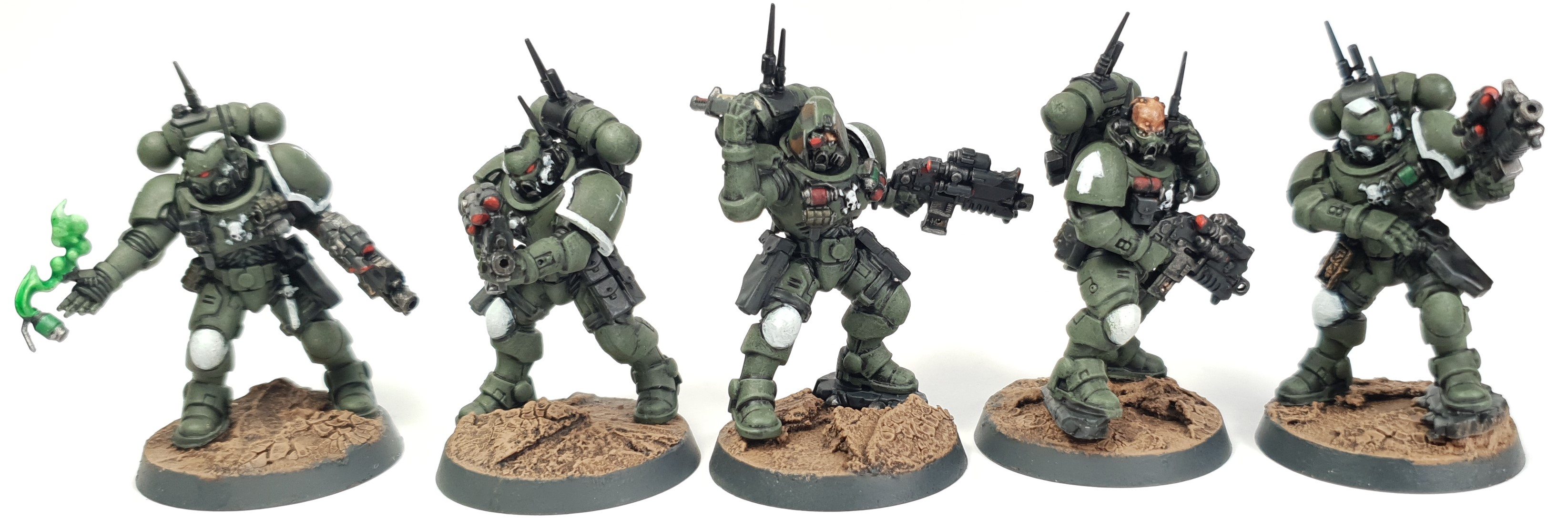 Swords of Davion Space Marine Infiltrator Squad Vortimer