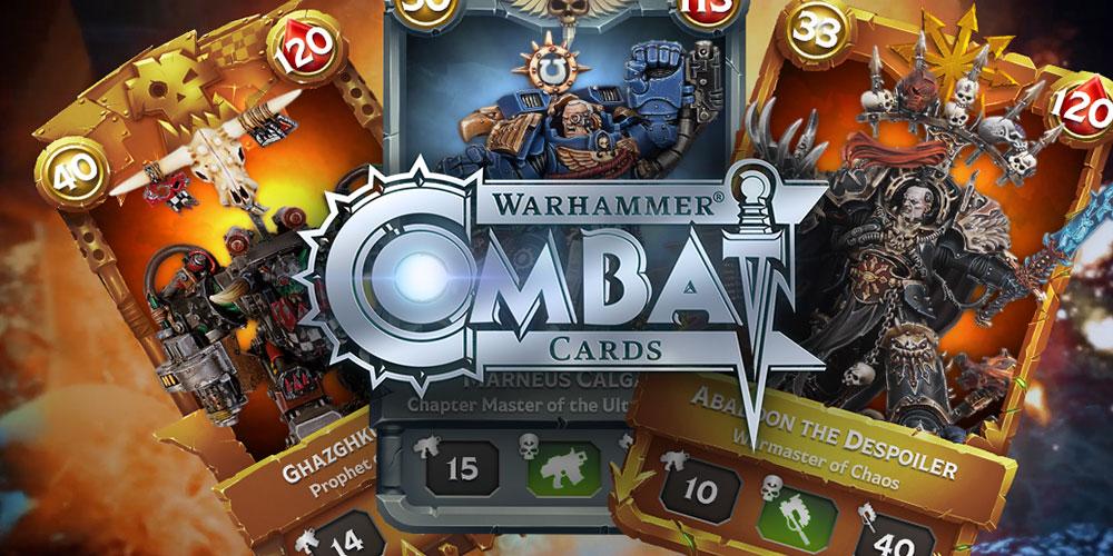 Game Review: Warhammer 40k Combat Cards – Goonhammer