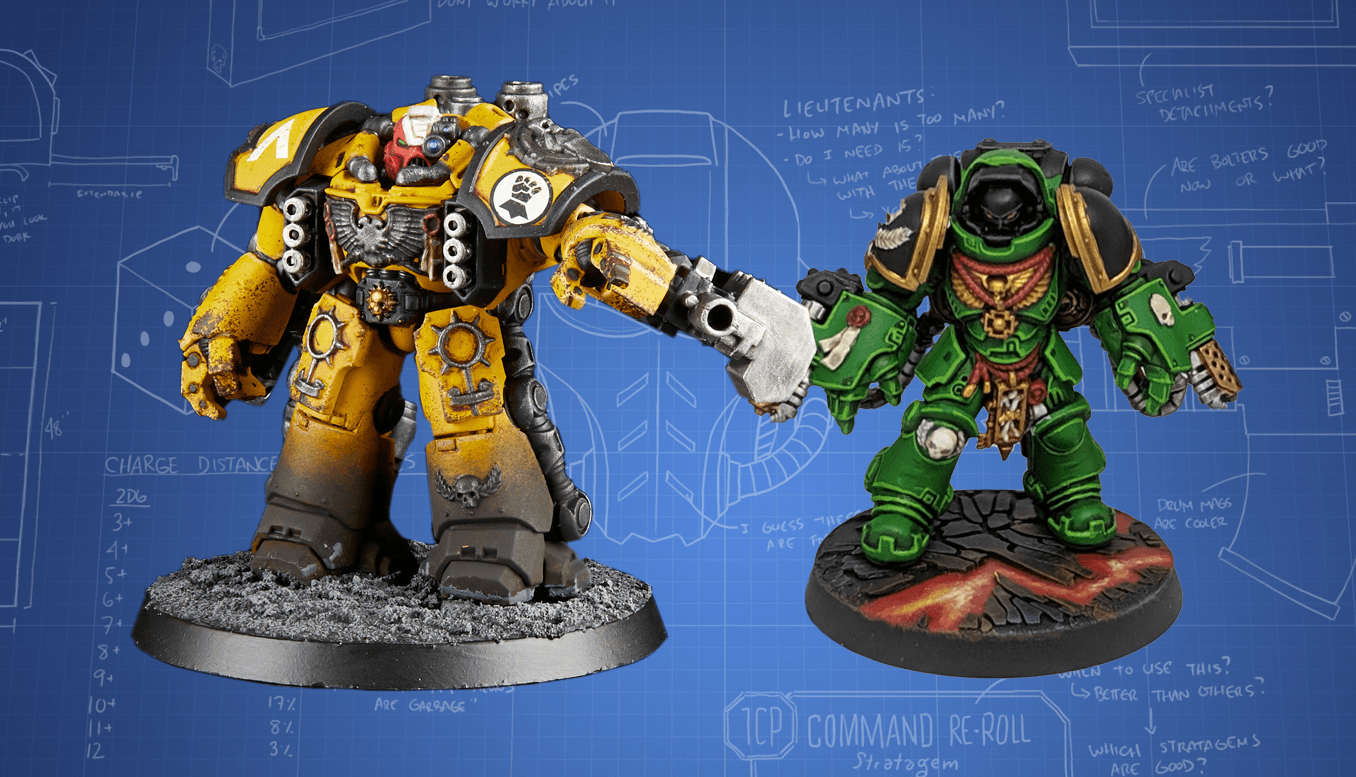Hot Take: Imperial Fists and Salamanders FAQ