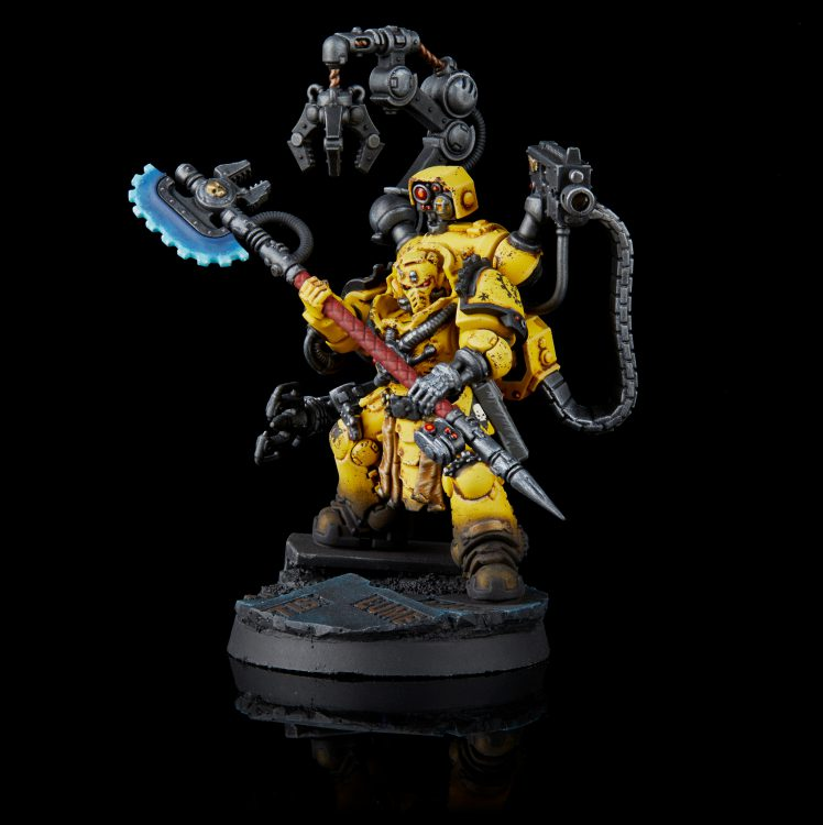 Imperial Fists Primaris Techmarine