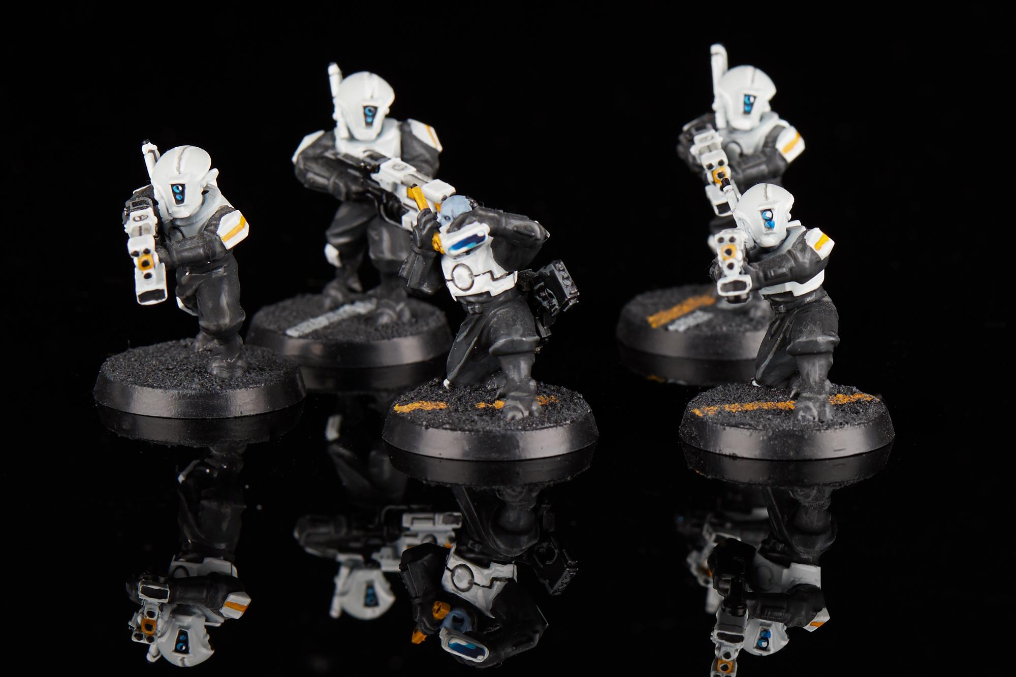 T/'au Empire XV8 Crisis Battlesuits Bits//Parts Body 7 variants