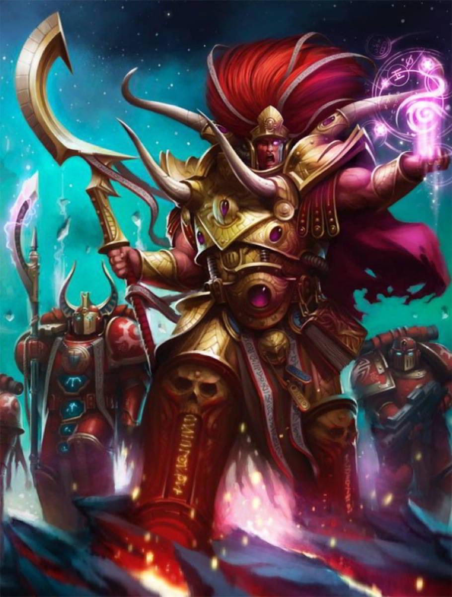 Magnus the Red Credit: Games Workshop