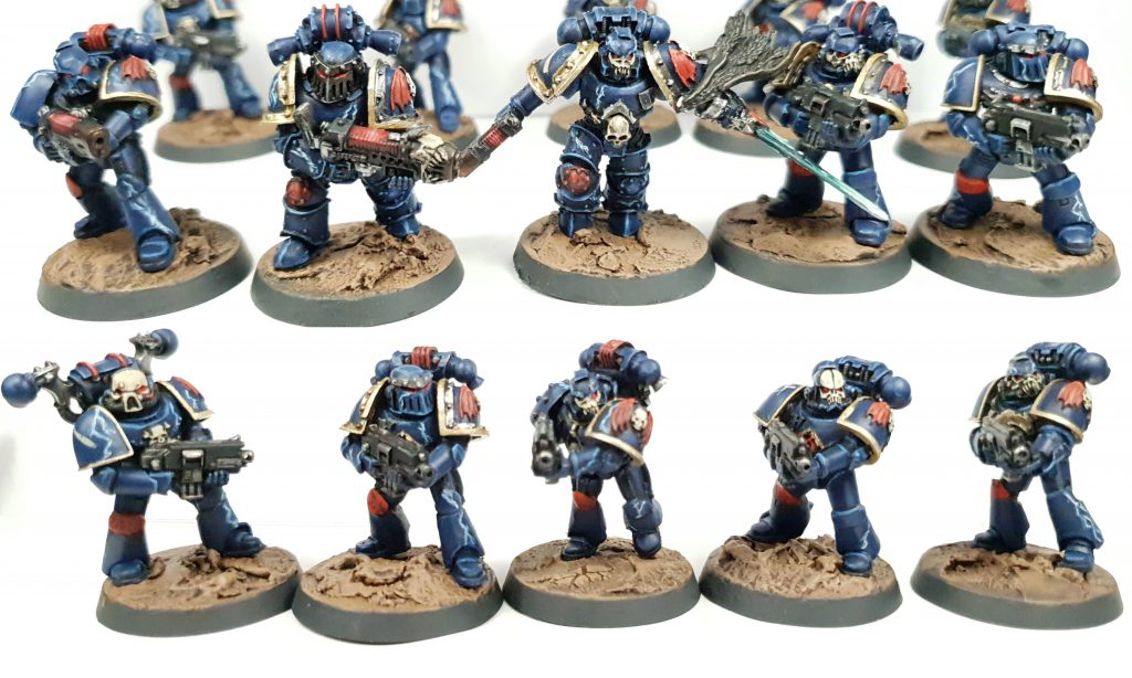 """Night Lords Chaos Space Marines By Tyler """"Coda"""" Moore"""