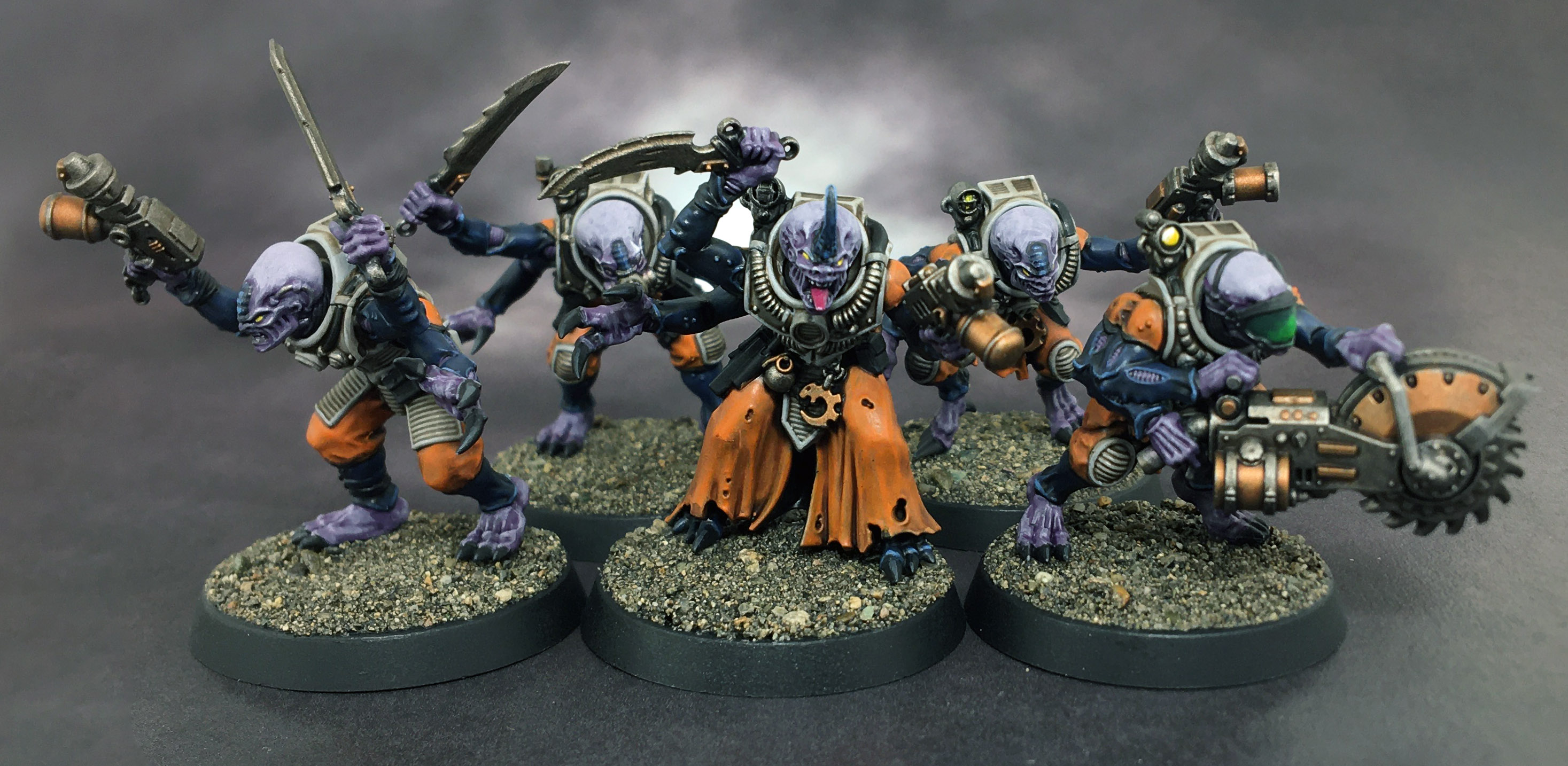 GENESTEALER néophyte Chainsword-Genestealer CULT 40k-Kill Team