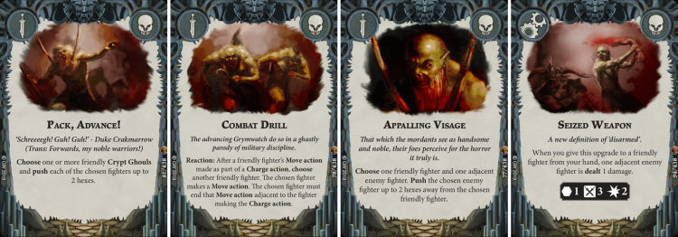 Grymwatch Faction Cards