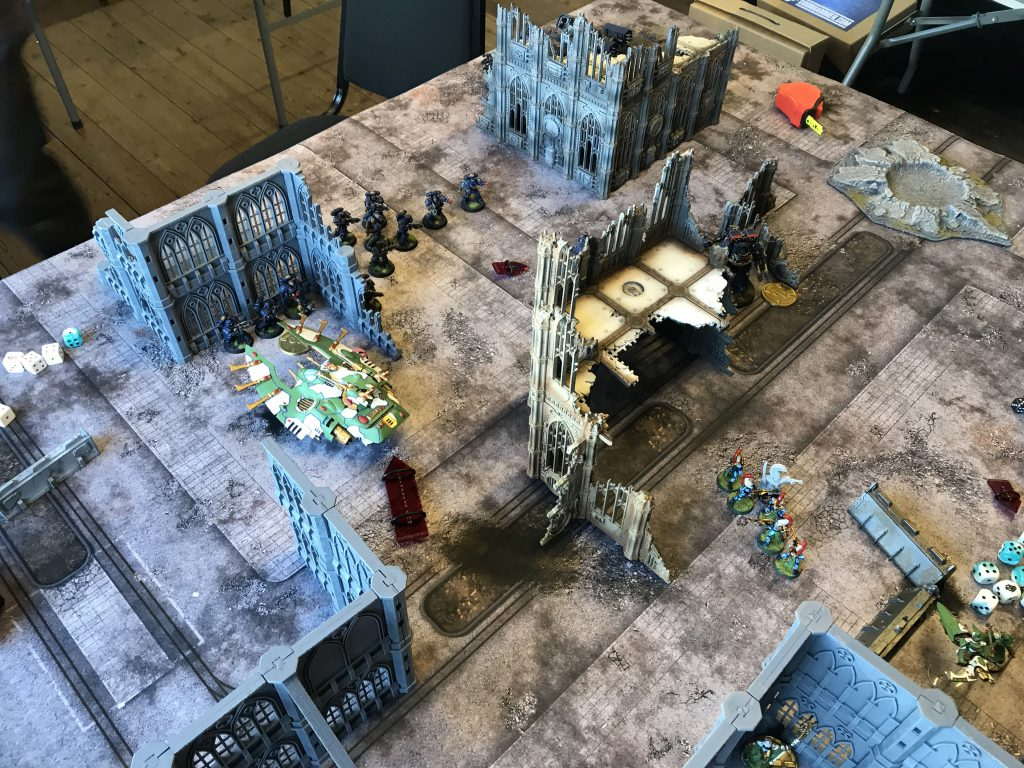 Space Marines move to mop-up mode