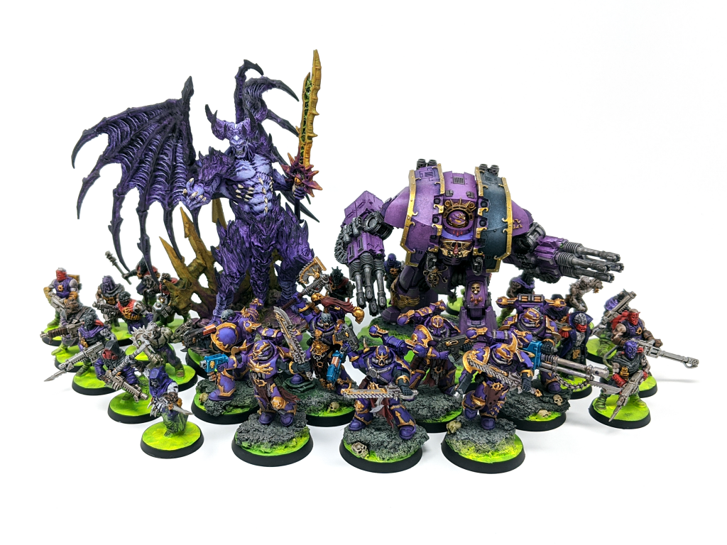 Slaanesh Aligned Chaos Warband