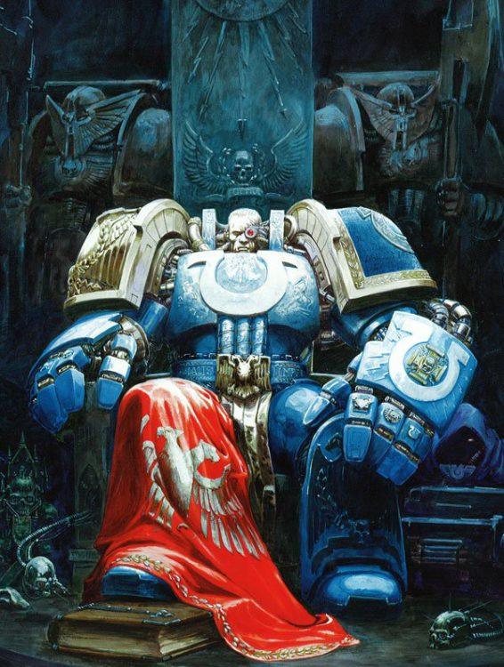 Marneus Calgar Credit: Games Workshop