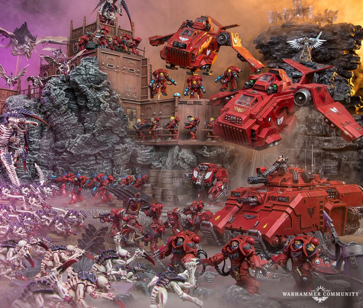 Blood Angels vs Tyranids