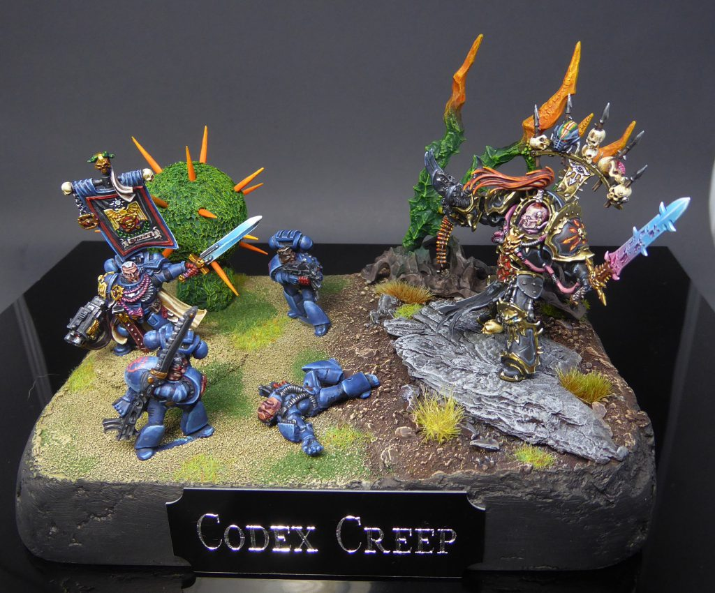 "Codex Creep Diorama by Craig ""MasterSlowPoke"" Sniffen"