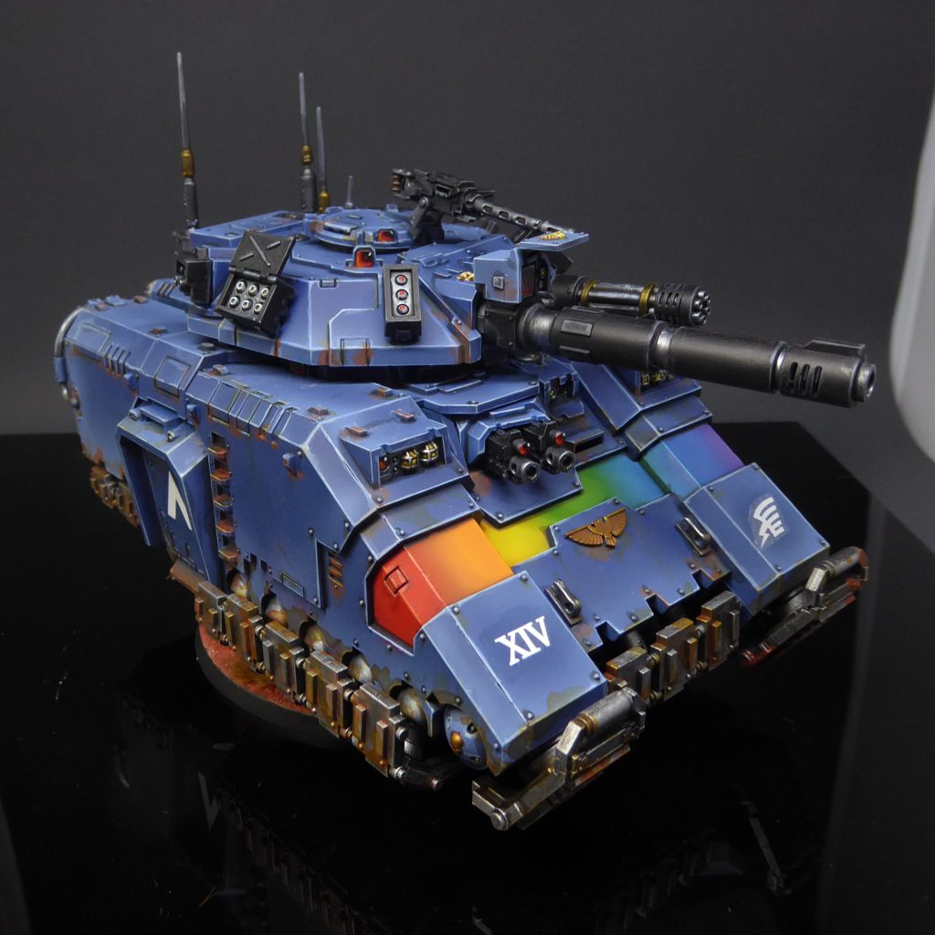 "Rainbow Warriors Repulsor Exterminator by Craig ""MasterSlowPoke"" Sniffen"