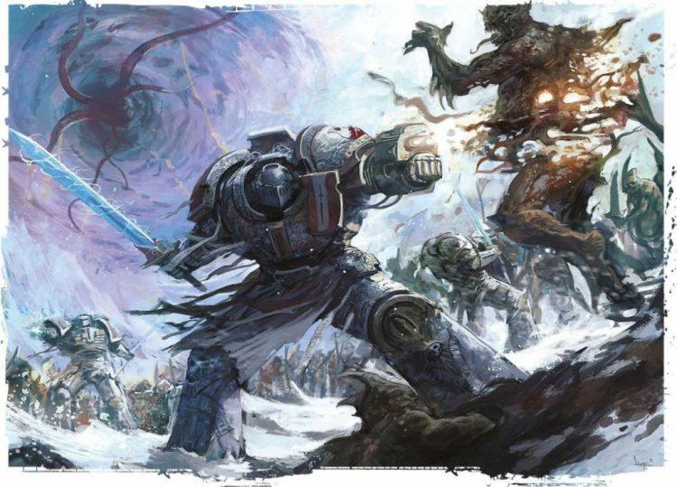 Grey Knight Terminator in Battle Credit: Games Workshop