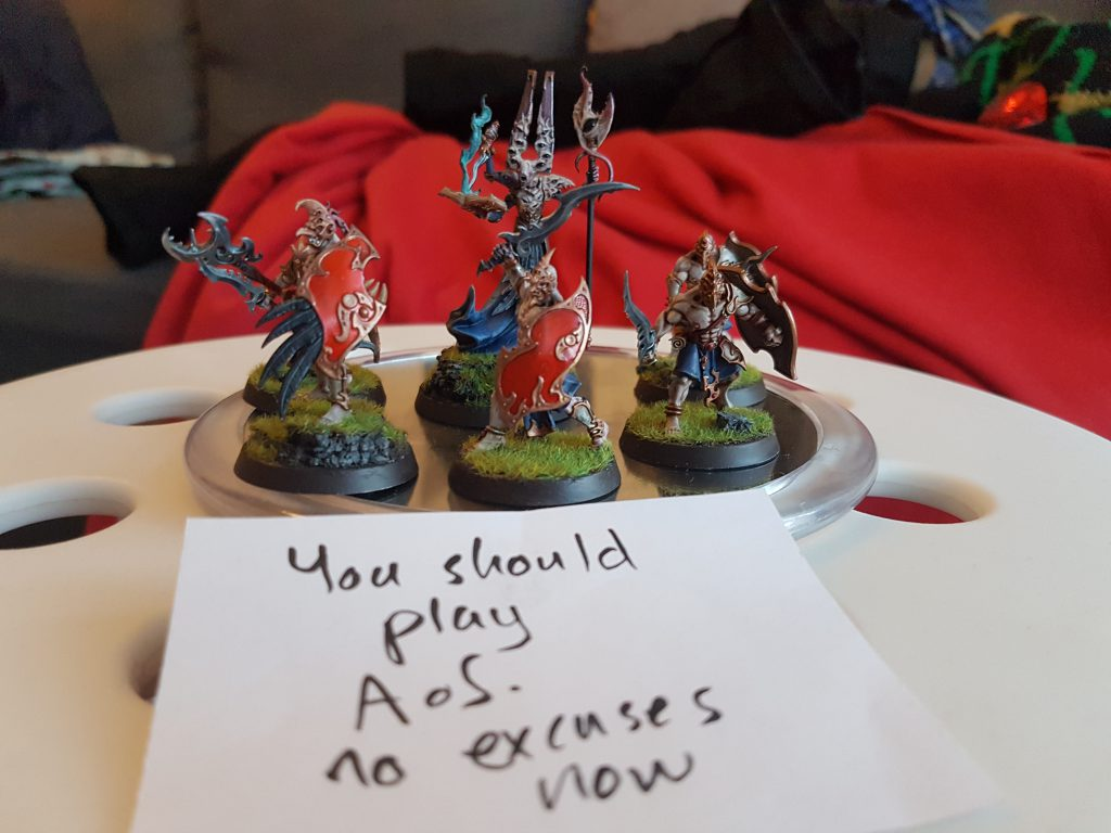 A message from Tzeentch