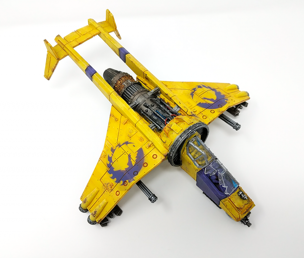 Vulture with Twin Punisher Cannons
