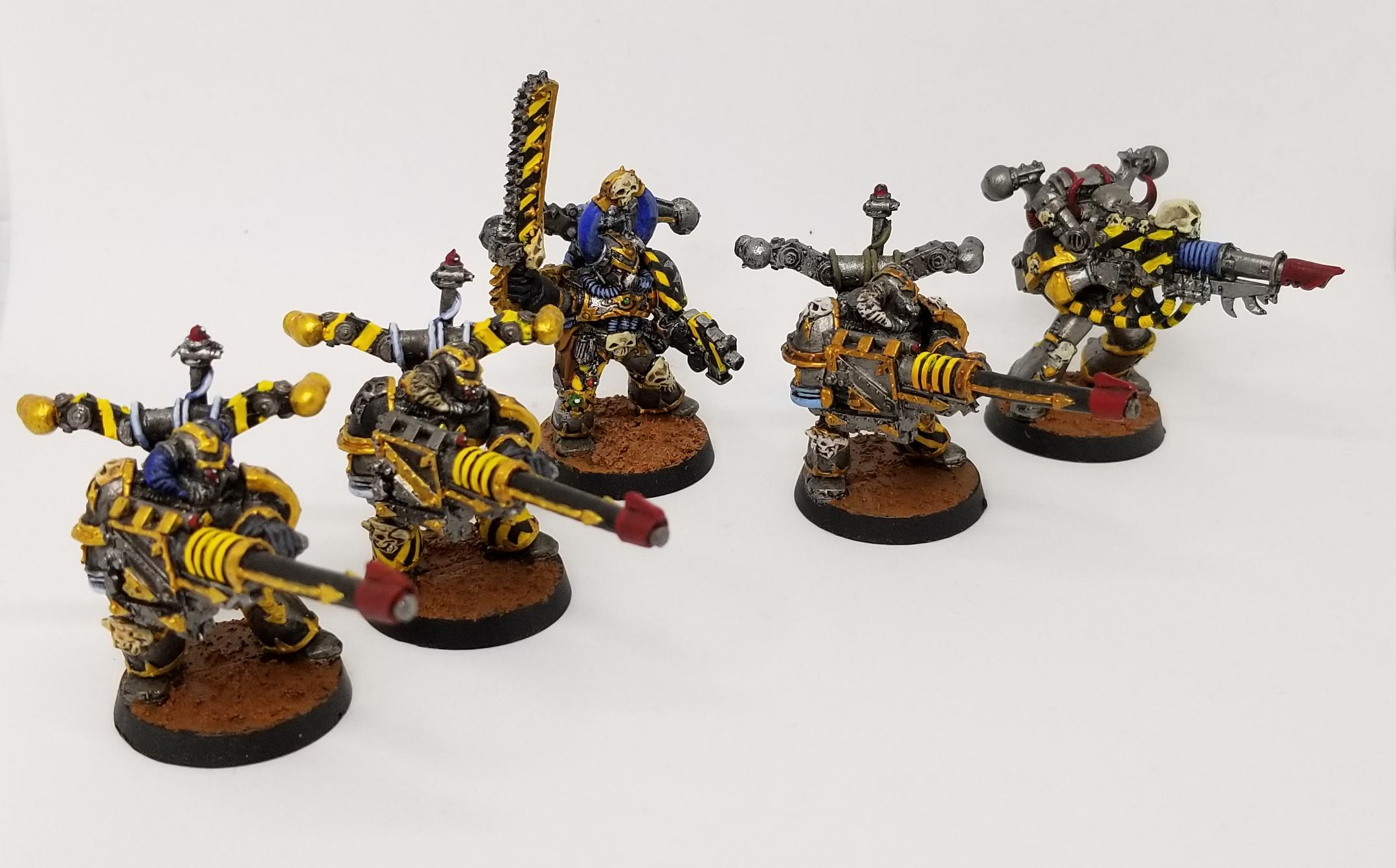 40K Havoc B Heavy Bolter Autocannon Chaos Marines Warhammer Heretic Black Legion