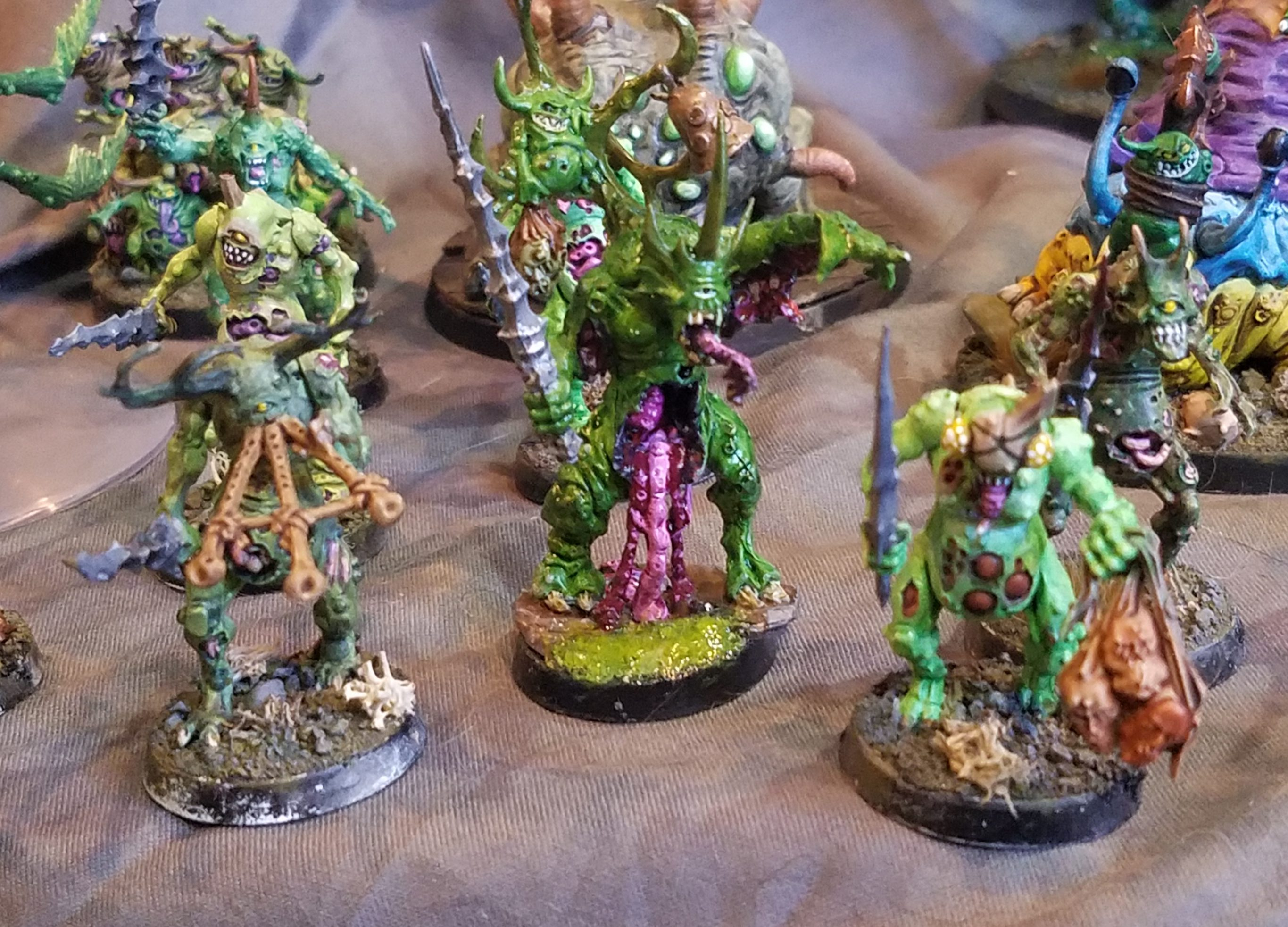 Plague Toads of Nurgle Modell B *BITS*