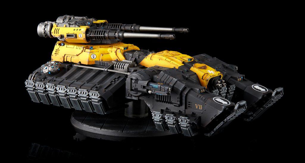 Imperial Fists Astraeus Super-heavy Tank