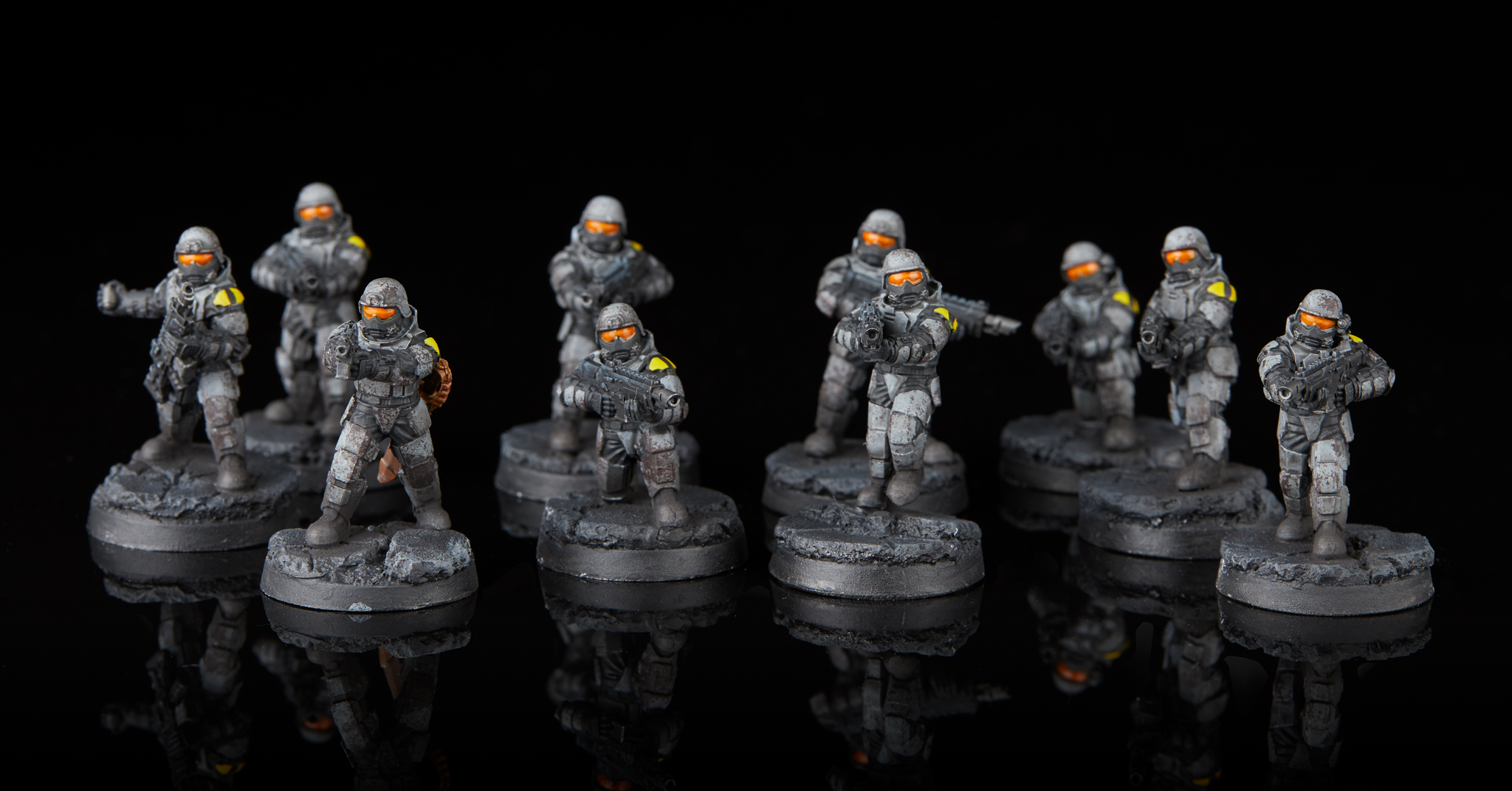 Warhammer 40k Astra Militarum Imperial Guard Command Souad x5 SEE DESCRIPTION