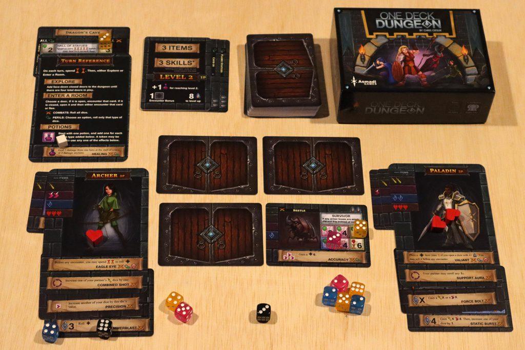 One Deck Dungeon: Gameplay