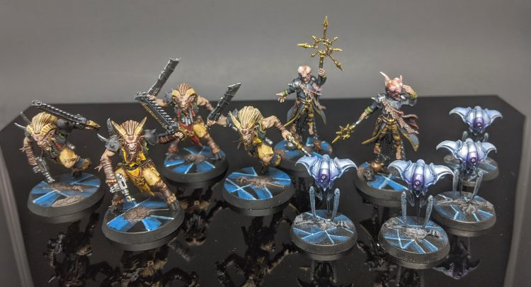 "Chaos Beastmen, Rogue Psykers, and Spindle Drones from Blackstone Fortress by Craig ""MasterSlowPoke"" Sniffen"