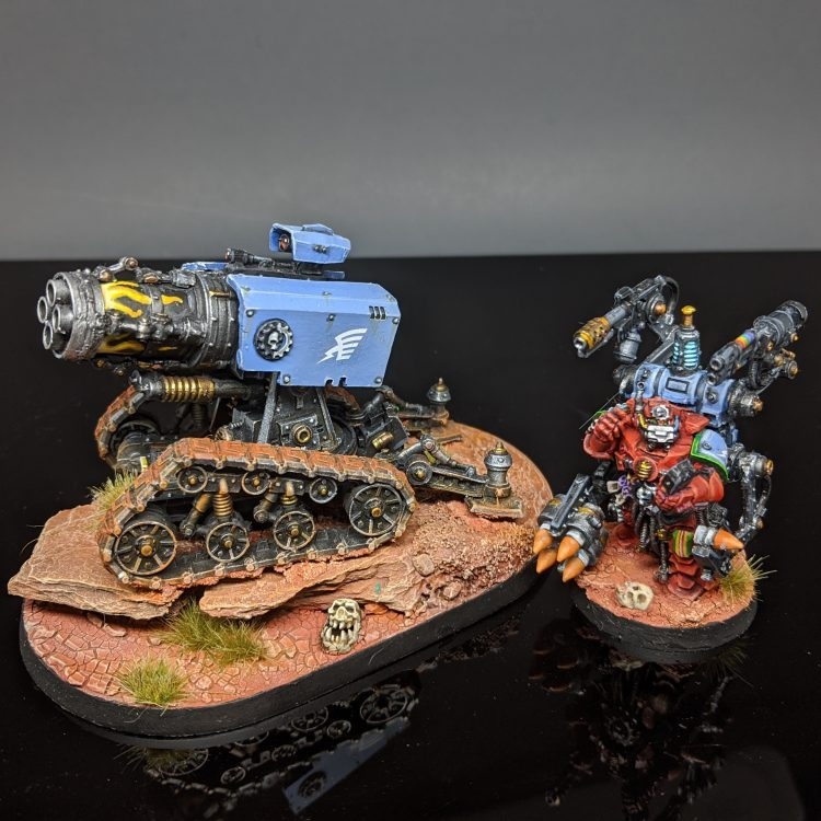 "Thunderfire Cannon and Techmarine Gunner by Craig ""MasterSlowPoke"" Sniffen"