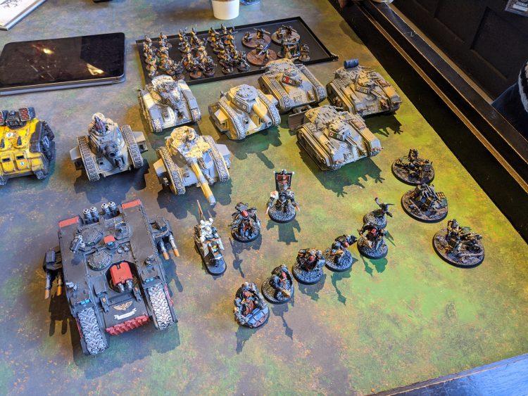 Cristian's Astra Militarum Army