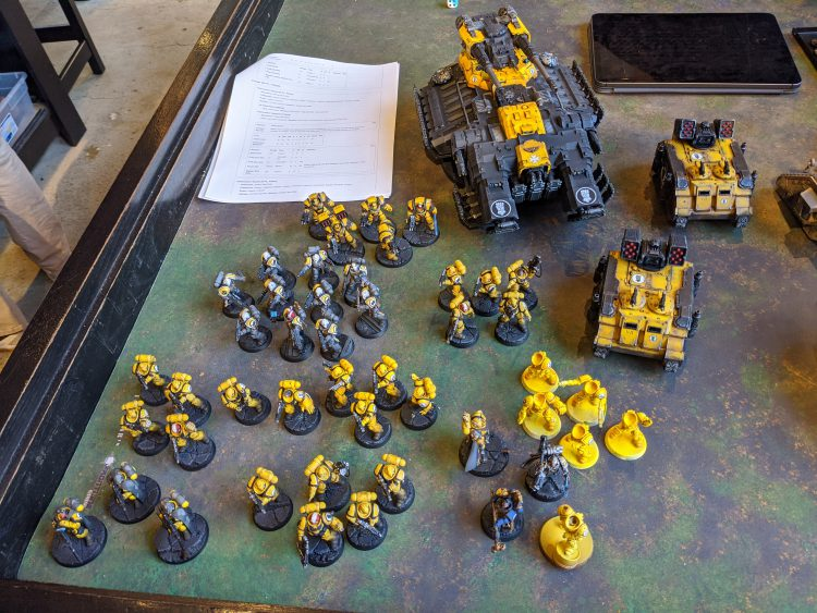 Jack's Imperial Fist Army