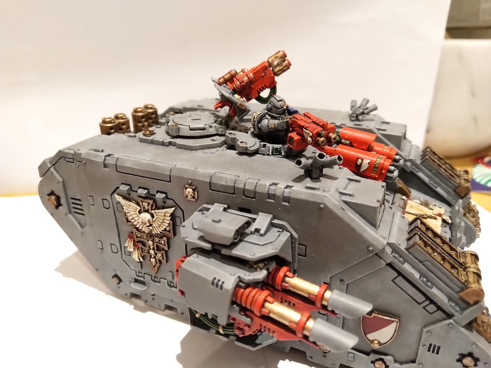 Grey Knights Land Raider Credit: Lungboy