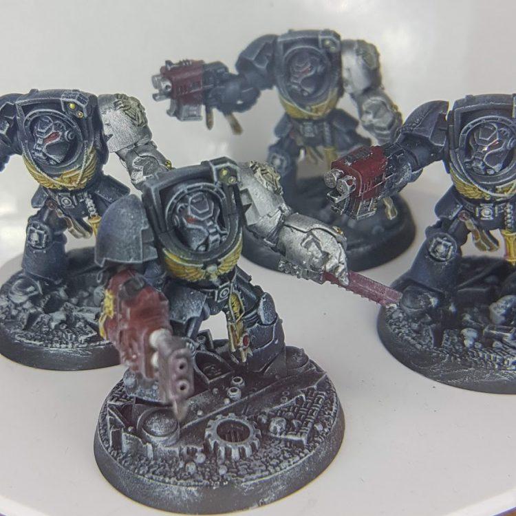 Space Marine Terminators