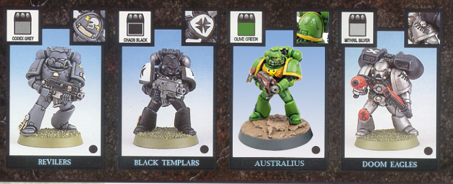 "Australius Tactical Marines by Tyler ""Coda"" Moore"