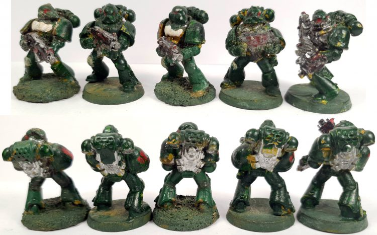 "Australius Tactical Marines by Tyler ""Coda"" Moore"