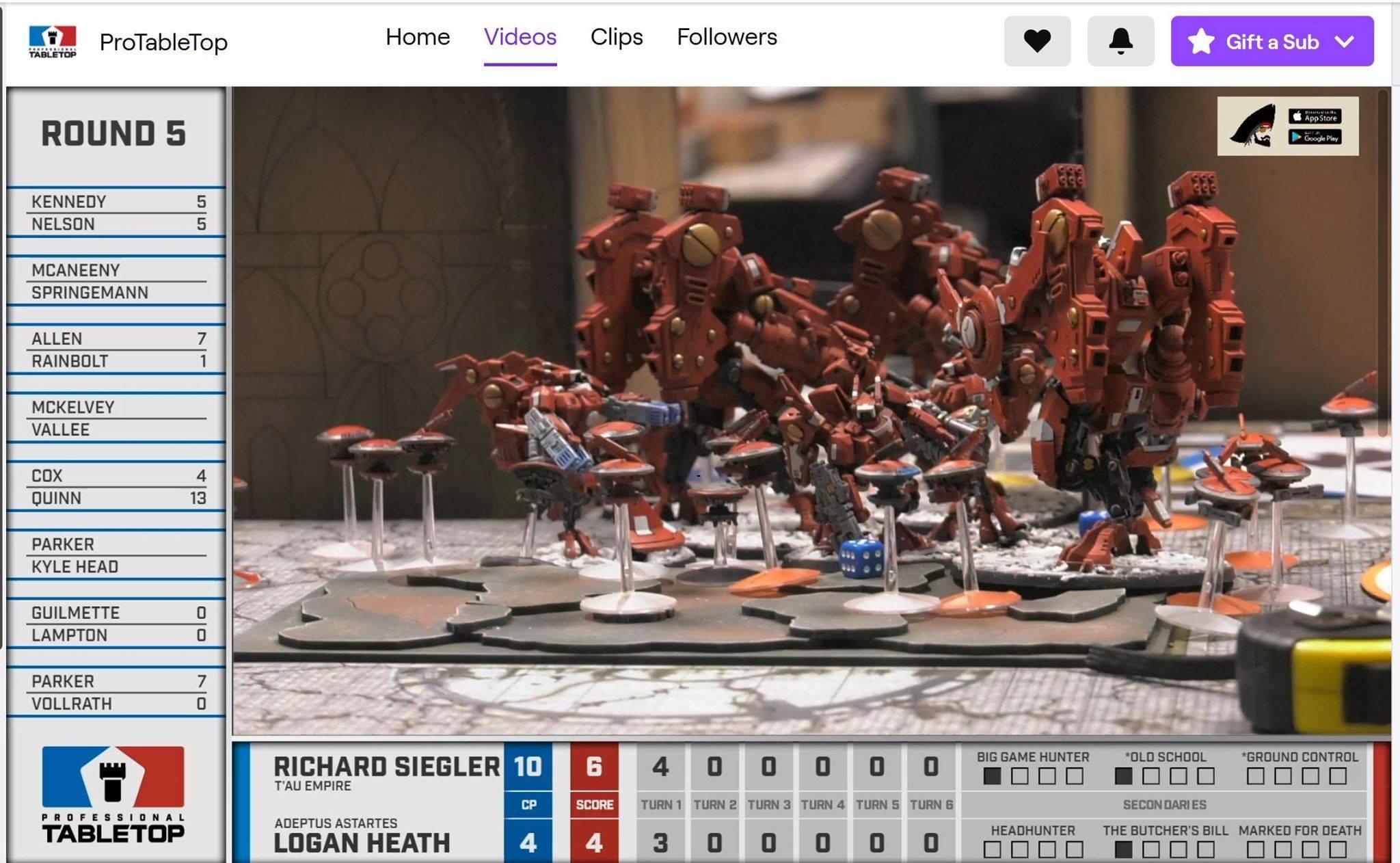 Tau T/'au xv104 Riptide Battlesuit Farsight Enclaves Warhammer 40K Kill Team NOS