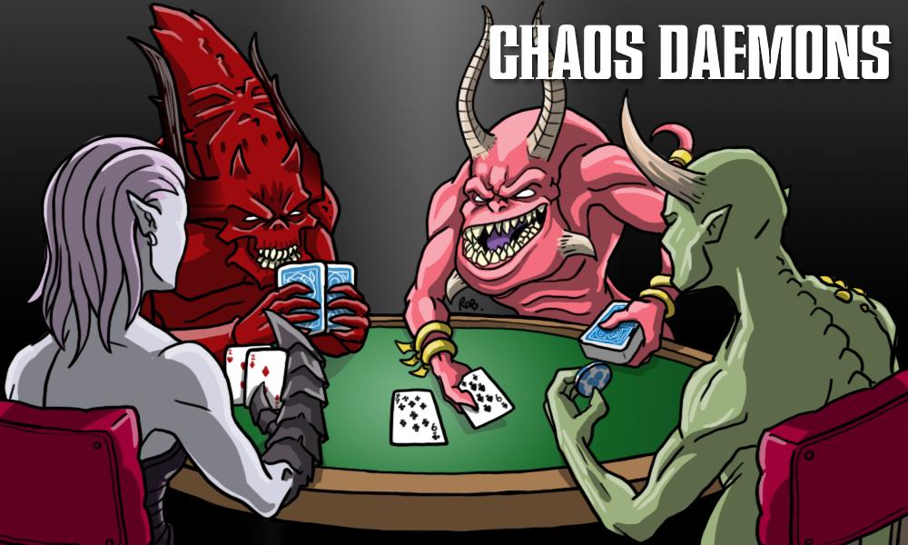 Warhammer Poxbringer Herald of Nurgle AoS Age of Sigmar 40K Chaos Daemons