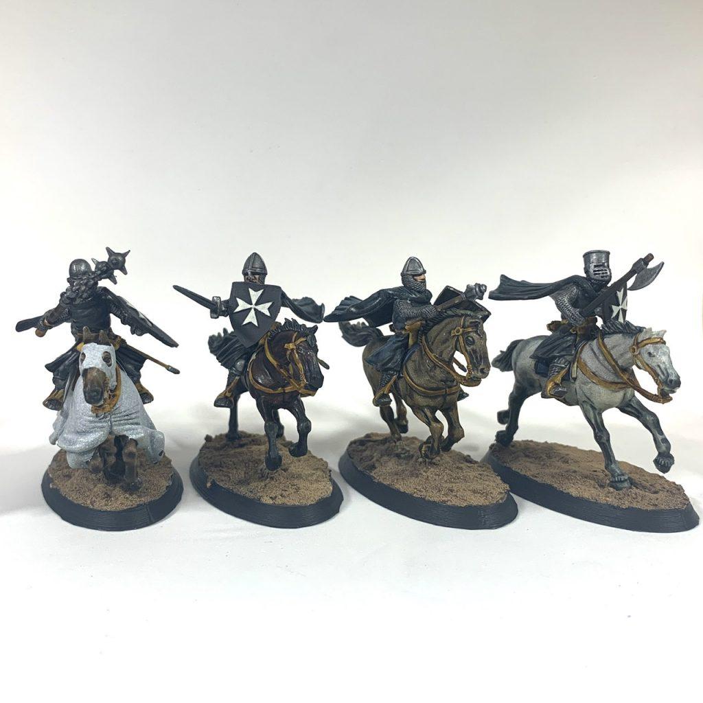 Milites Christi Knights with lances