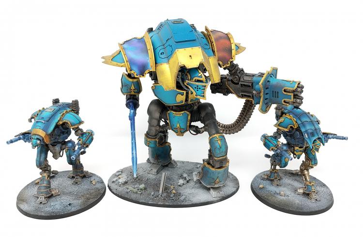 Super-Heavy Knights