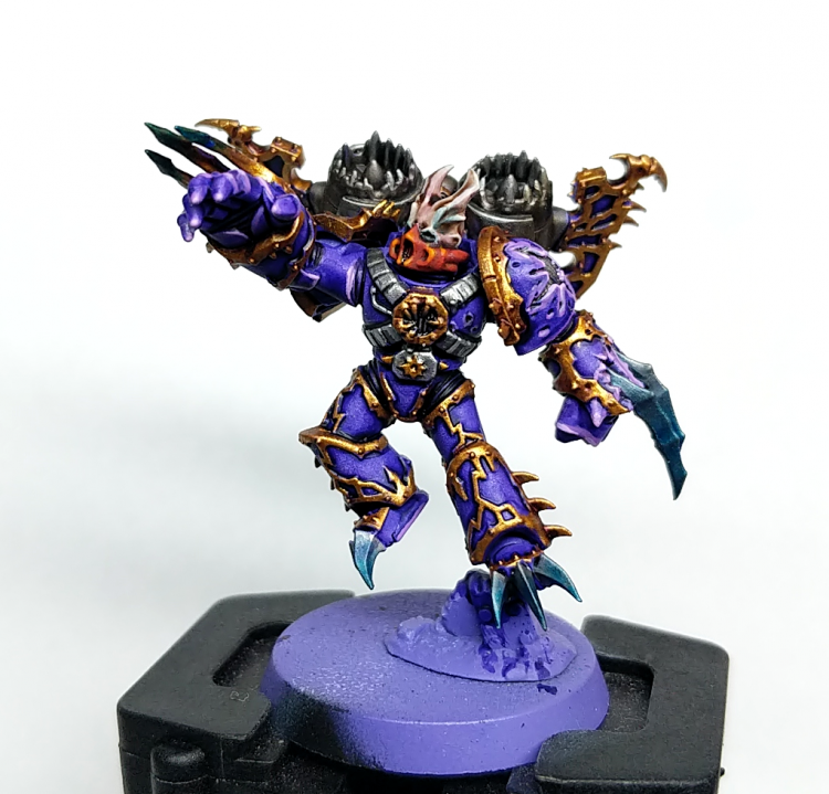 Test Model Warp Talon