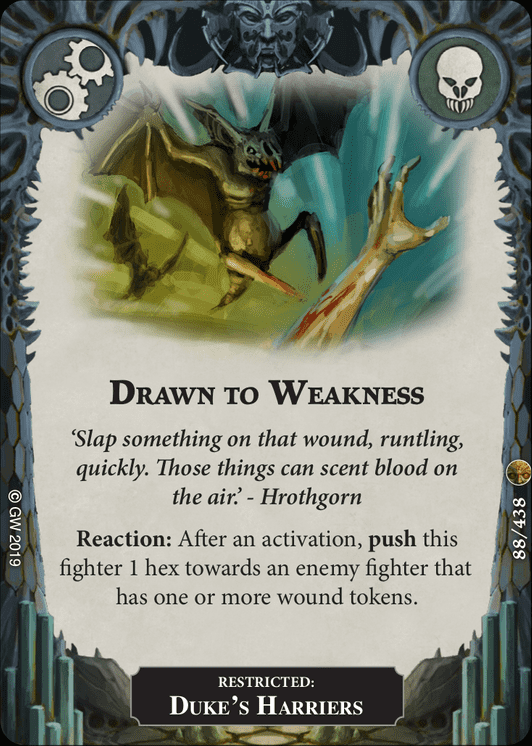 Drawn to Weakness