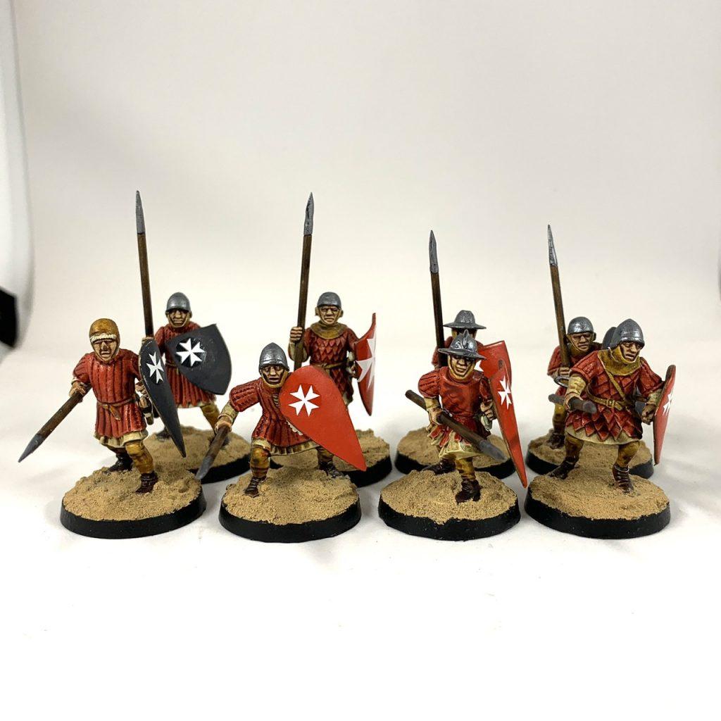 Milites Christi spearmen