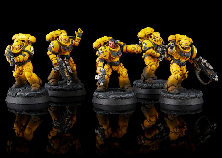 Imperial Fist Primaris Intercessors