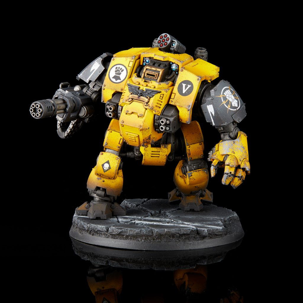 Imperial Fists Redemptor Dreadnought